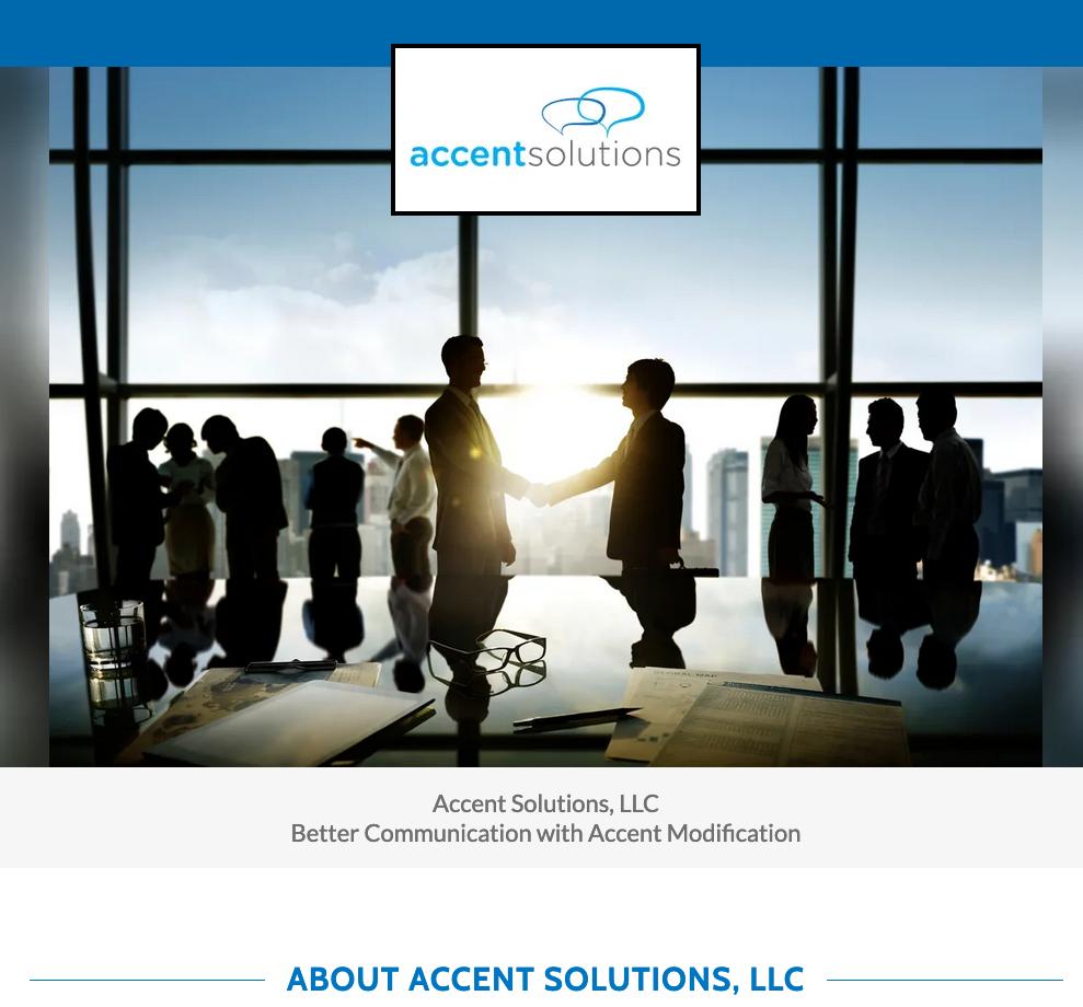 Accent Solutions, LLC
